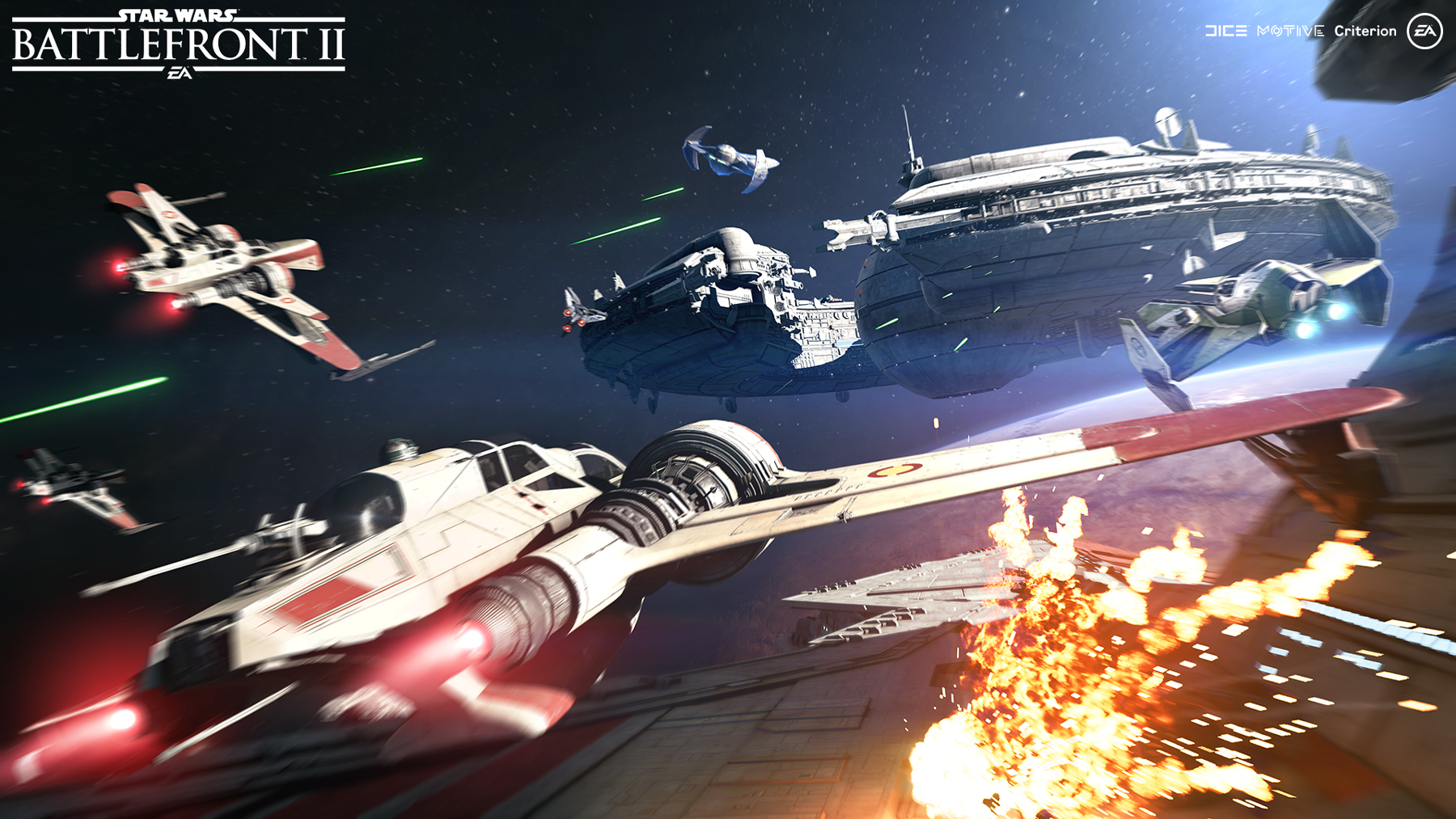 Star Wars Battlefront II Starfighter Assault Mode Unveiled