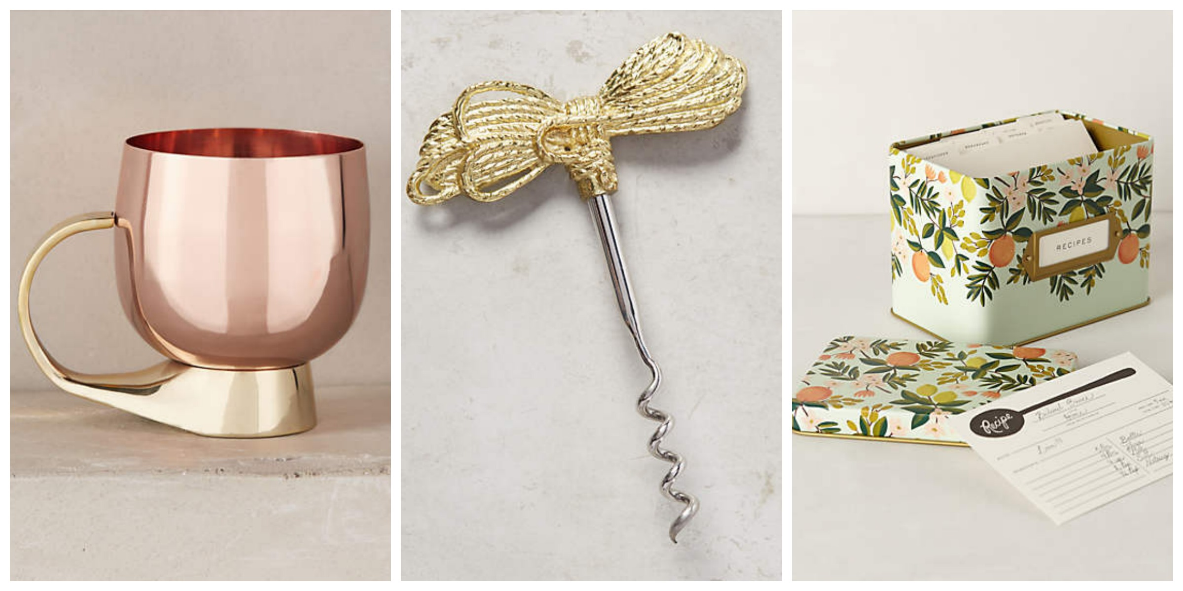 best holiday gifts from Anthropologie