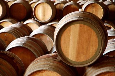 31522658 - winery barrels in wine