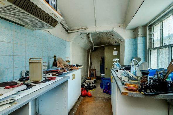 London basement Knightsbridge