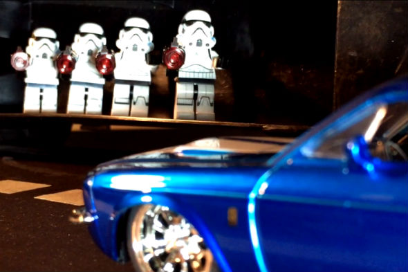 Fast & Furious Lego video