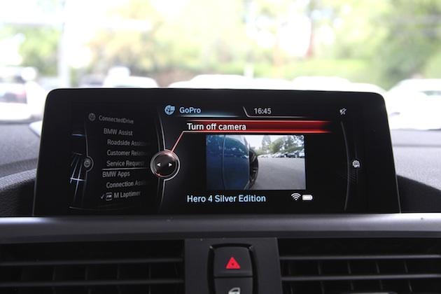 iPhone用アプリ「BMW Mラップタイマー」が、GoProカメラと連携