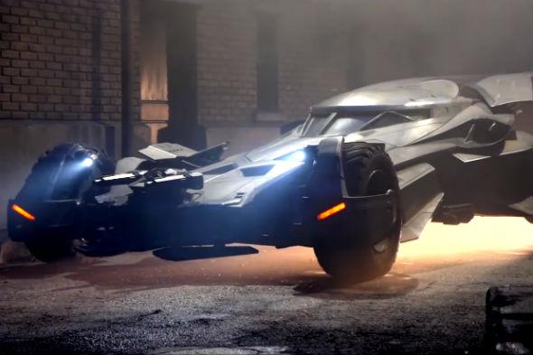 Batman v Superman Batmobile