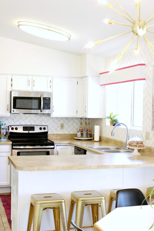Kitchen Make Over Big Reveal White Kitchen Makeover Aol Lifestyle