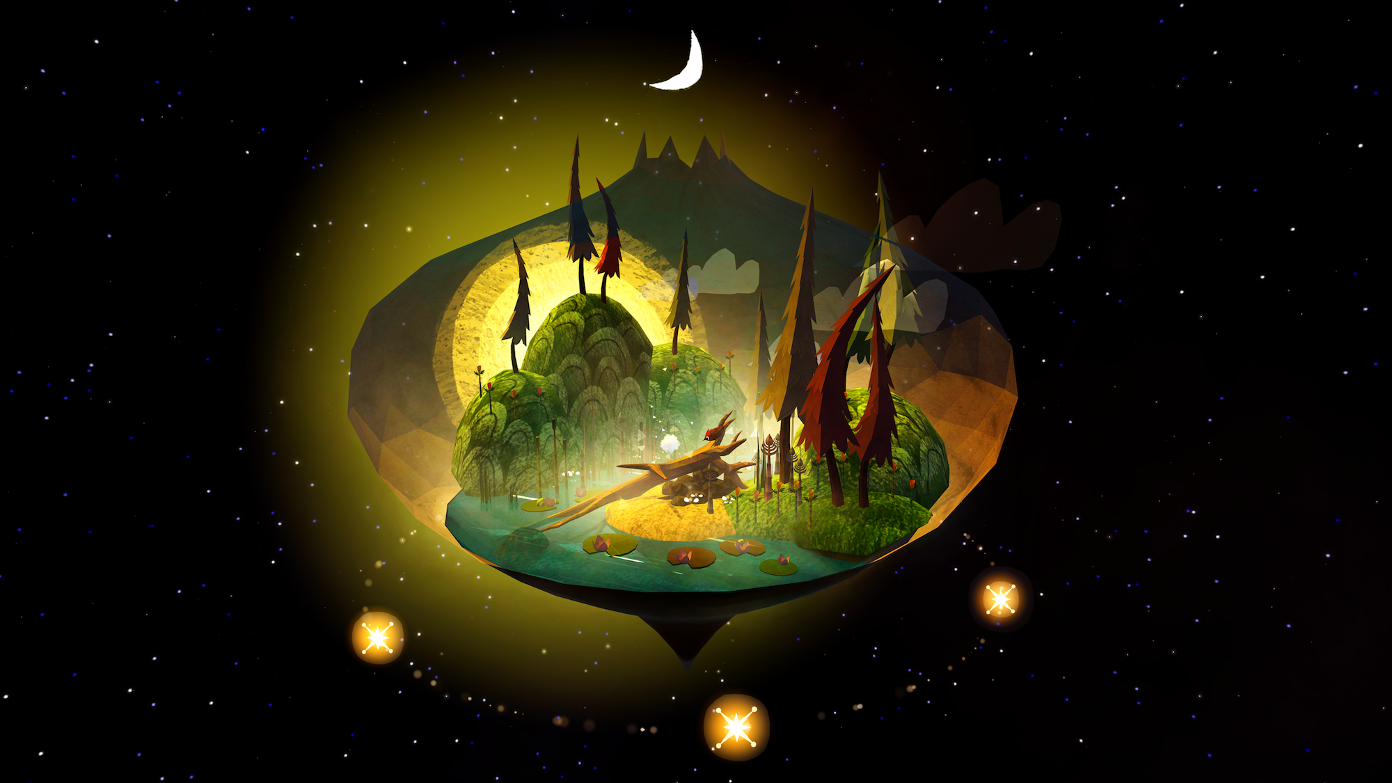 'Luna' is a whimsical puzzle game that takes place in the ...