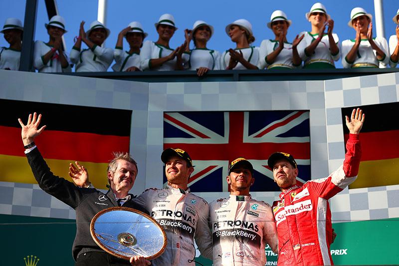 The 2015 Australian Formula One Grand Prix.