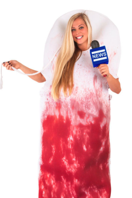 foxy megyn bloody tampon this is quite the literal interpretation of donald trumps sexist comments