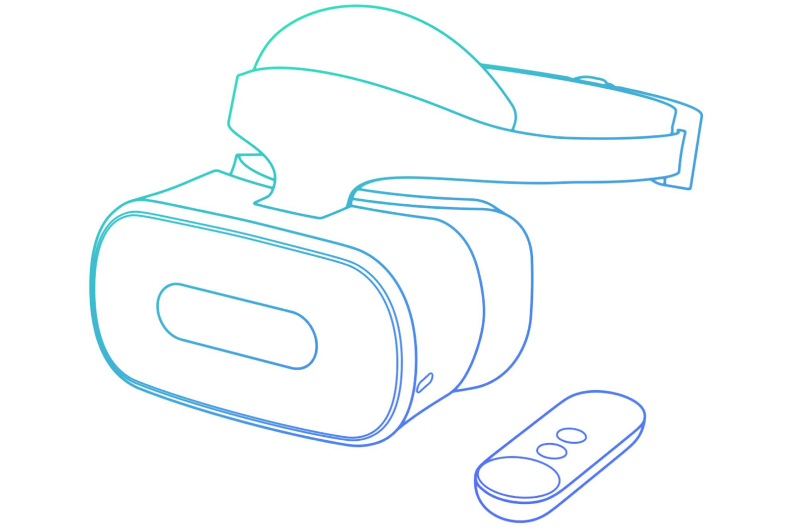 a86956c6dbd Lenovo s standalone Daydream VR headset pops up at the FCC