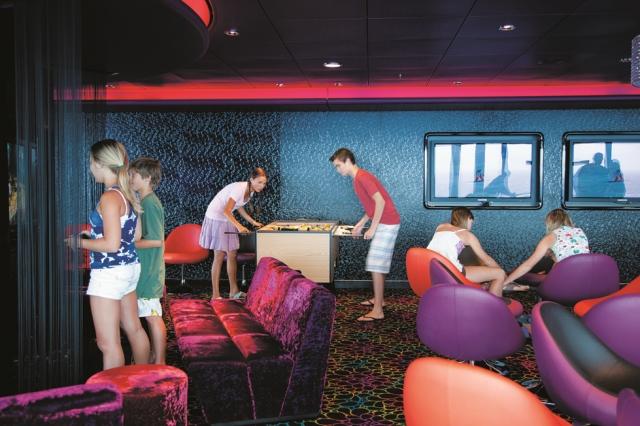 Norwegian Cruise Line for teenagers