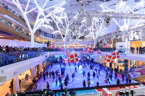 best places for ice skating in london