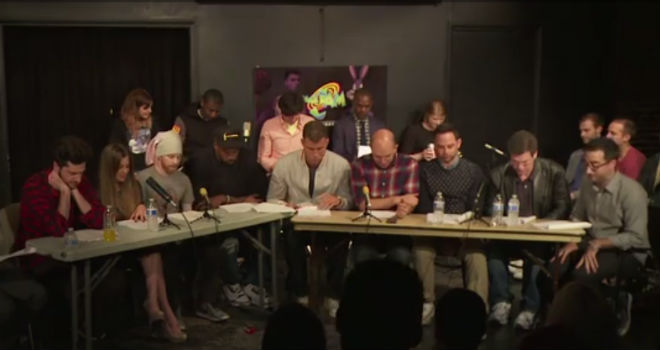 space jam live reading