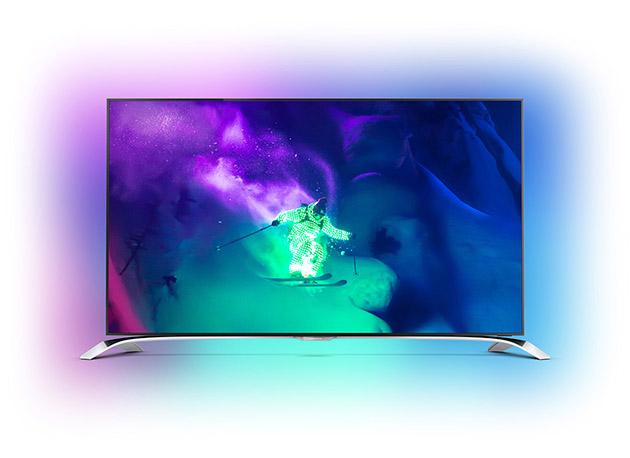philips 39 new curved tv and 4k media player run on android. Black Bedroom Furniture Sets. Home Design Ideas