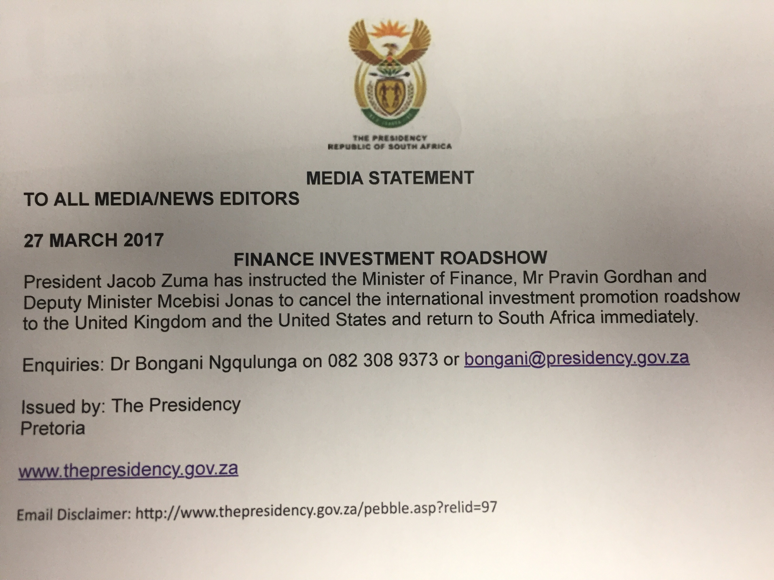 Gordhan vs The Guptas In Court: Shining A Light On State