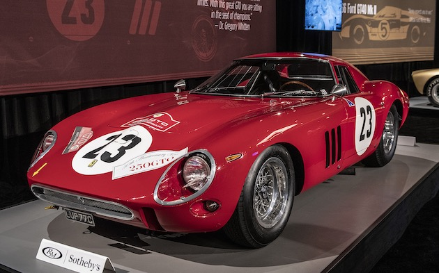 1962年製フェラーリ「250GTO」が、自動車オークション史上最高額となる約53億5,800万円で落札!