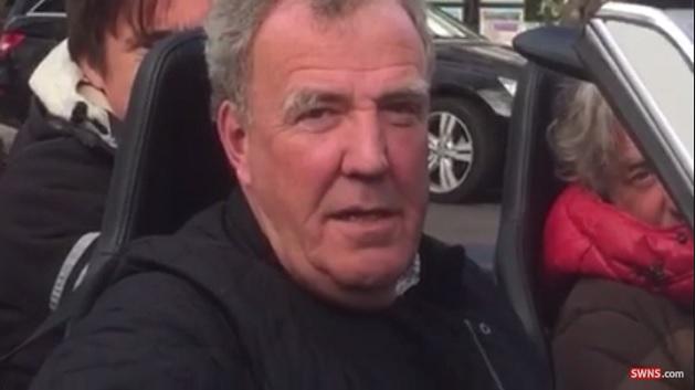 【ビデオ】クラークソン、ハモンド、メイの3人が、おかしなメルセデス「SL」でドライブ