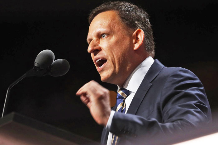 Supporting Peter Thiel isn't embracing 'diversity'