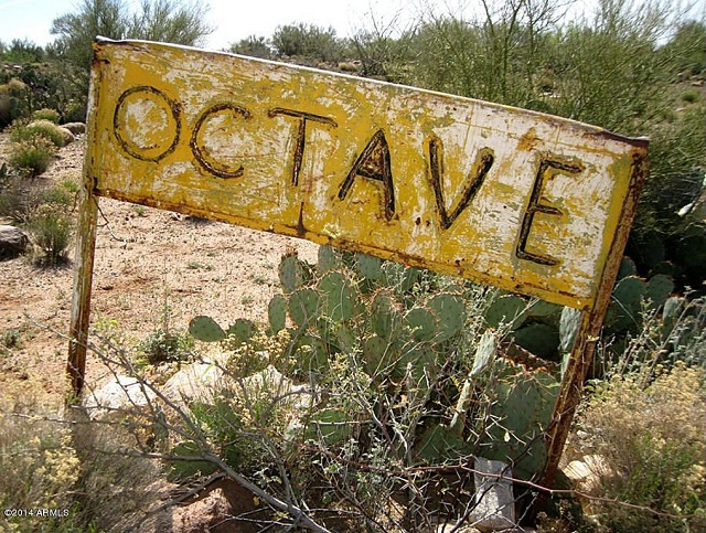 octave mine sign