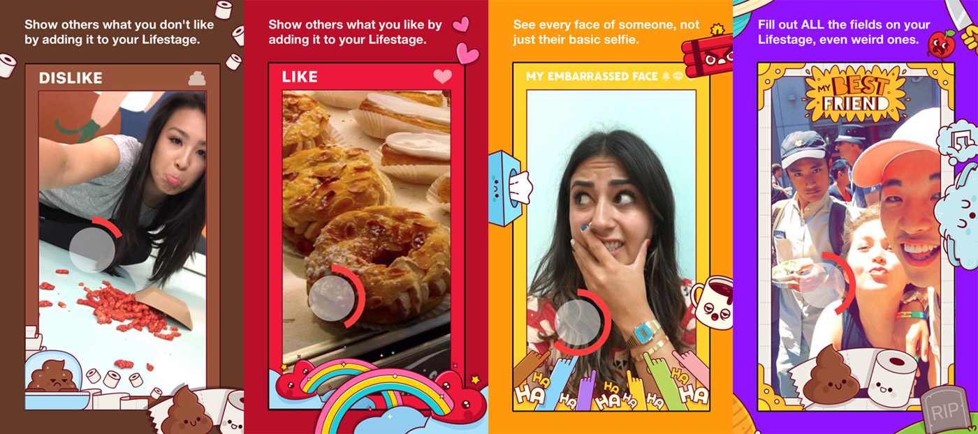 Facebook's Lifestage is a video-centric social app for teens