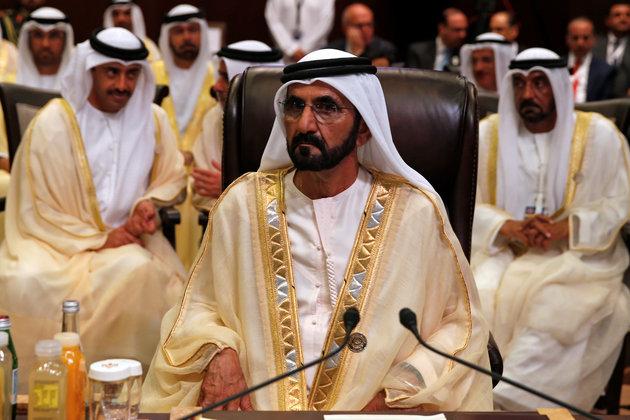 Le dirigeant de Dubaï Sheikh Mohammed bin Rashid Al