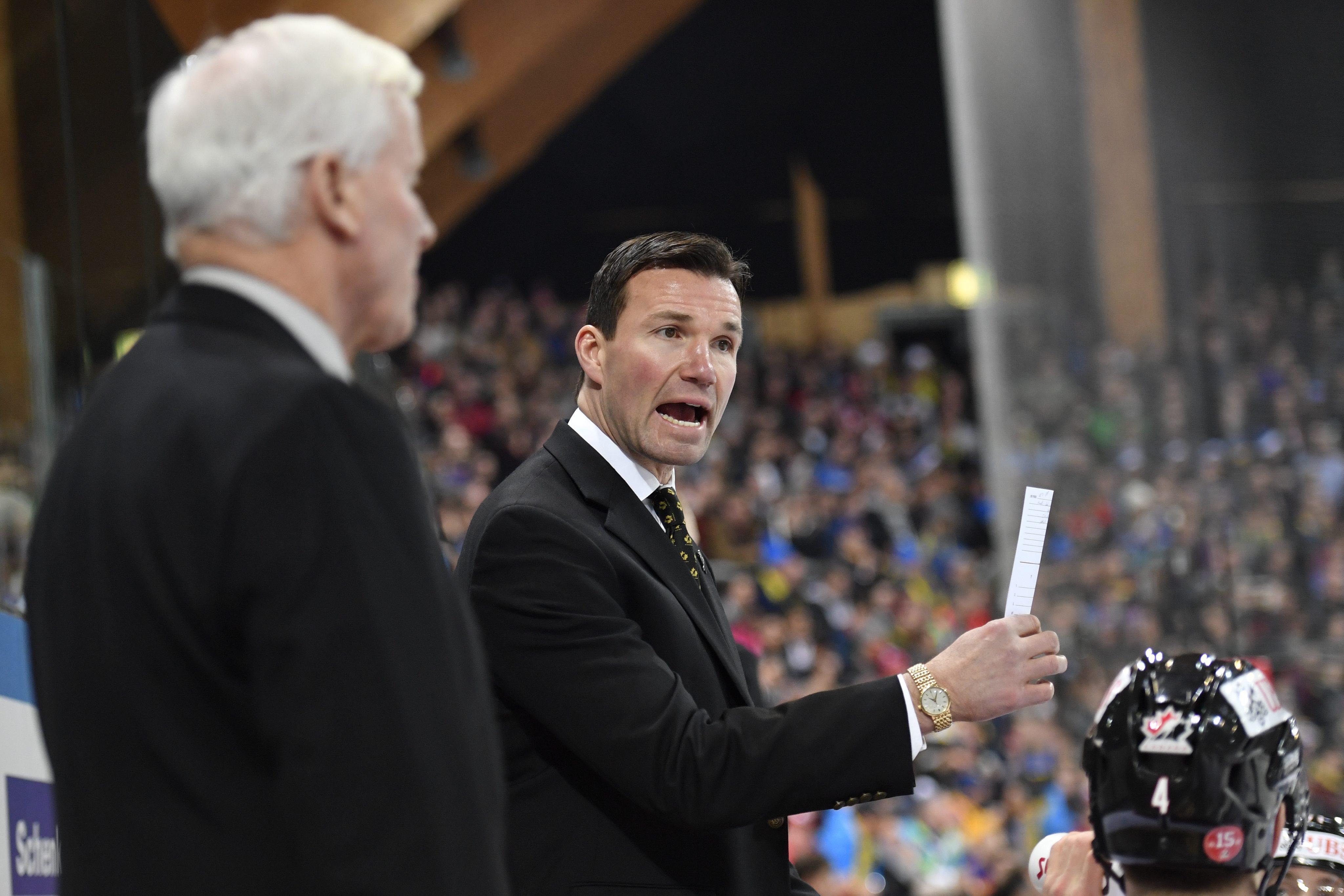 Luke Richardson a été l'entraîneur-chef du Canada à la Coupe Spengler en