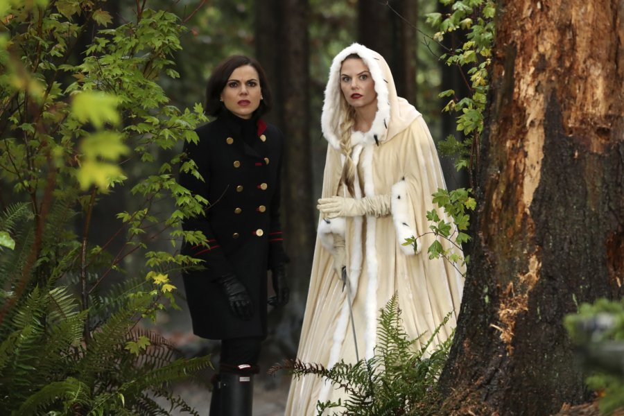 """Regina Mills and Emma Swan from ABC's """"Once Upon A"""