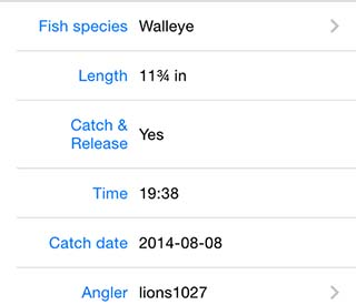 FishBrain Fishing Reports screen shot