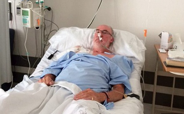 British tourist stuck in Spanish hospital for 11 days as 'NHS had no beds'