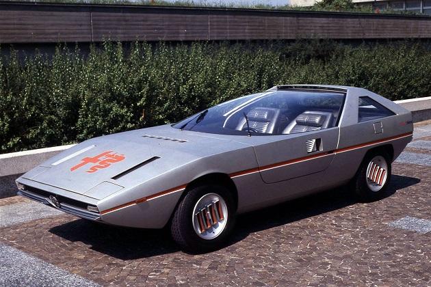 1970年代の最先端ウェッジ・デザインを代表する、アルファ ロメオ「カイマーノ」