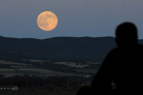 Supermoon at Perseid meteor shower to light up UK sky on 10 August