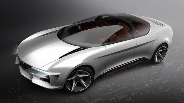 ジウジアーロ、中国のエネルギー企業のために可動式キャノピーを備えたゴージャスなEVをデザイン!