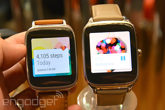 11d0d4956 ASUS ZenWatch 2 comes in two sizes with more variations