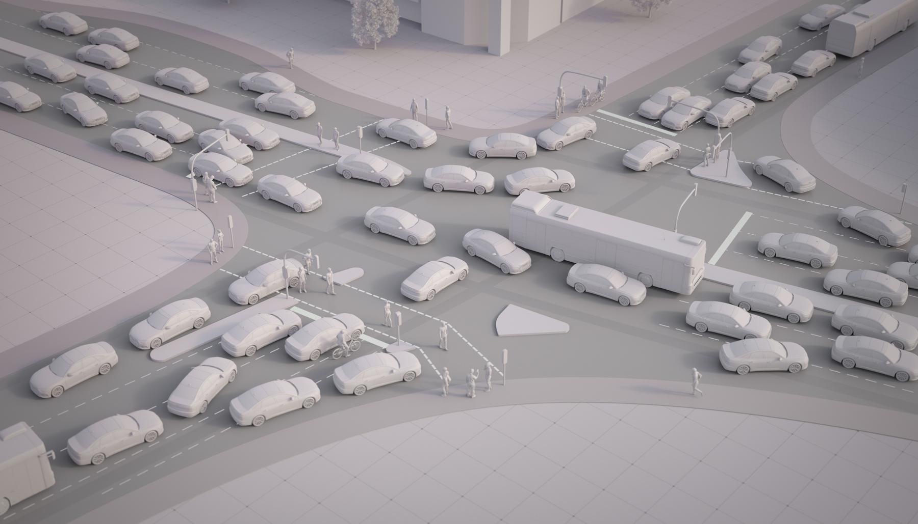 Audi: Autonomous cars alone won't solve traffic jams