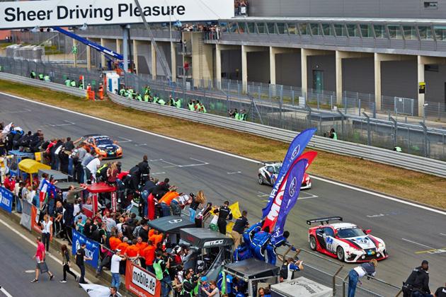 トヨタ、ニュルブルクリンク24時間レースで見事3クラス制覇!