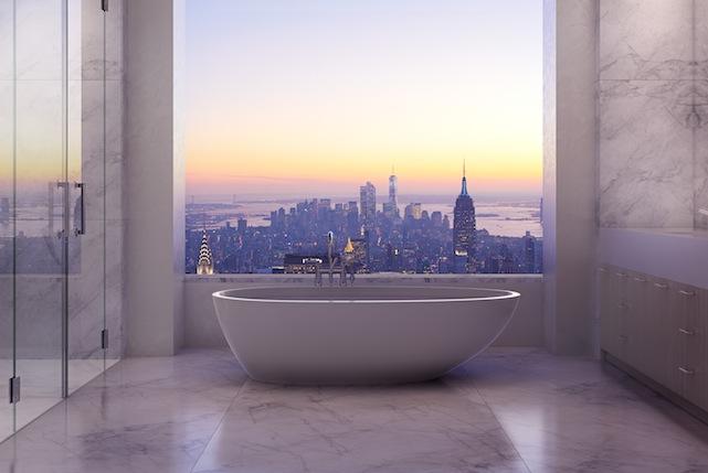 master bathroom 432 park avenue