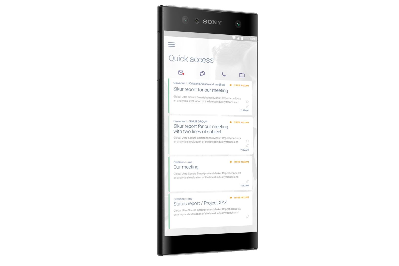 SIKURPhone XA2