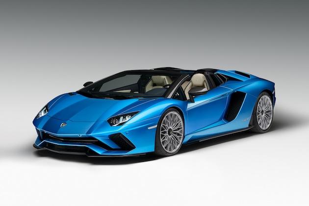 ランボルギーニ、「アヴェンタドール S ロードスター」を発表! クーペより50kg重いだけで性能はほぼ同等