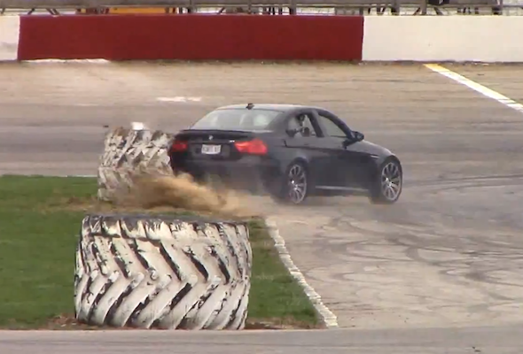 BMW M3 drift fail