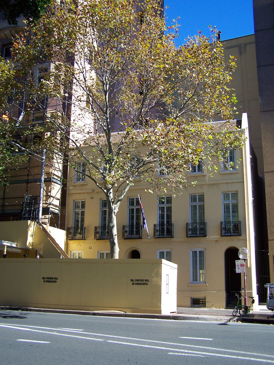 22 Horbury Terrace, Macquarie Street, Sydney. Frances White ran a respectable boarding house here advertising...