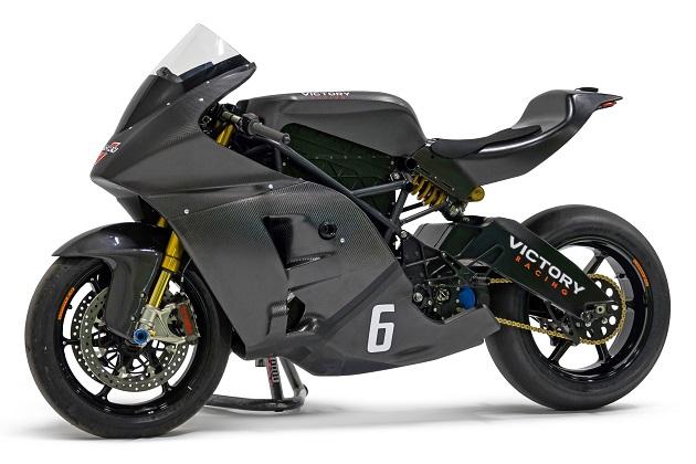 ヴィクトリー・モーターサイクルズ、新型電動バイク「ヴィクトリーRR」でマン島TTゼロ参戦を発表!