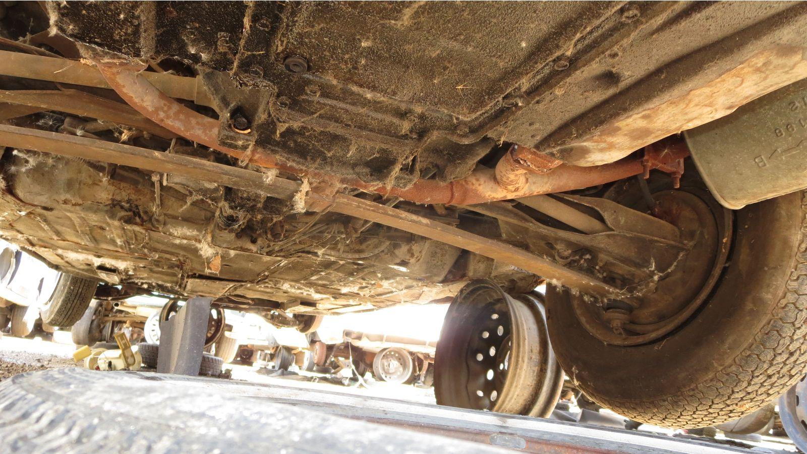 1964 Chevrolet Corvair rear suspension