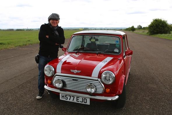 Brian Johnson races Mini