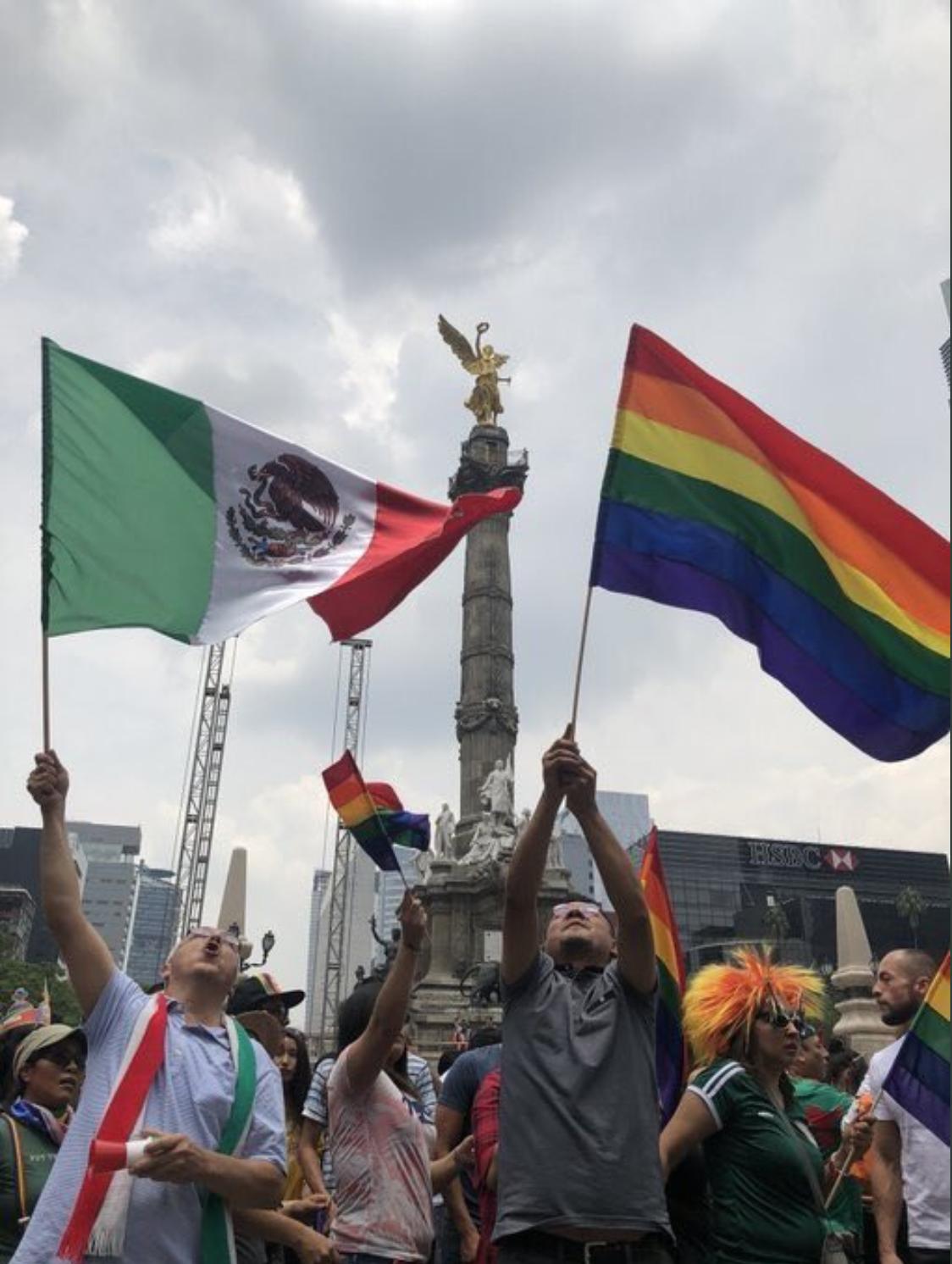 La foto más famosa de la edición 40 de la marcha del Orgullo