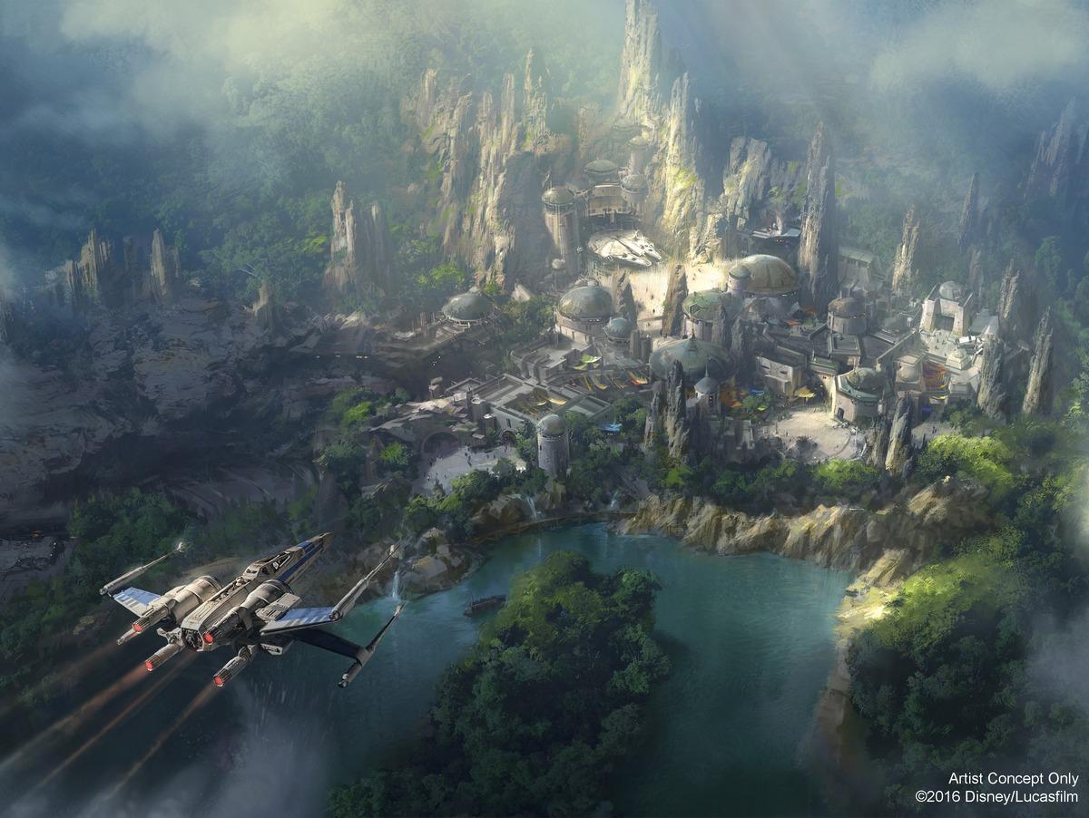 ディズニー『スター・ウォーズ』ランドは2019年オープン。アバターの惑星