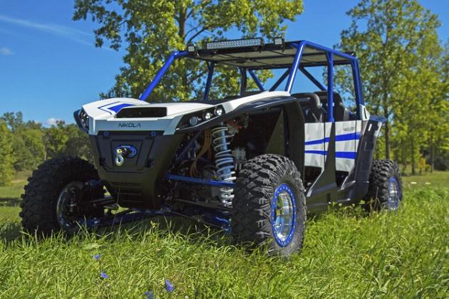 二コラ、520馬力のフル電動UTV「ニコラ・ゼロ」を公開 価格は約382万円