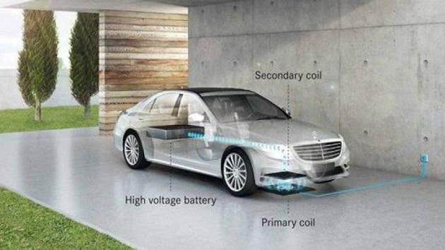 メルセデス・ベンツ、「S 550 e」の2018年モデルよりワイヤレス充電システムを採用