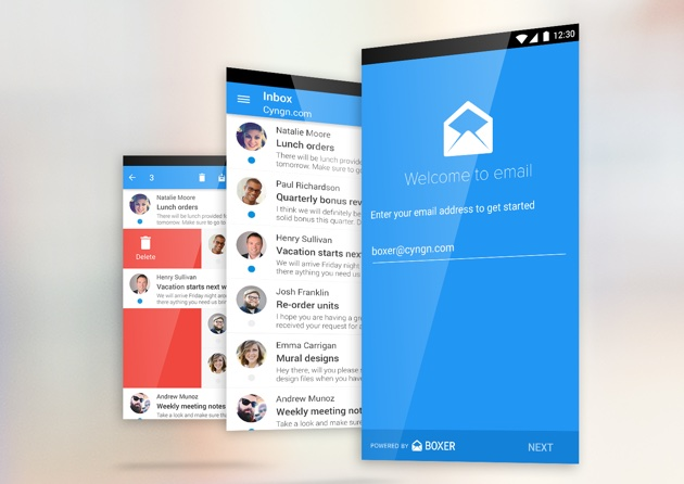 Cyanogen 為非 Google 服務愛好者準備了一個取代 Gmail 的電郵應用