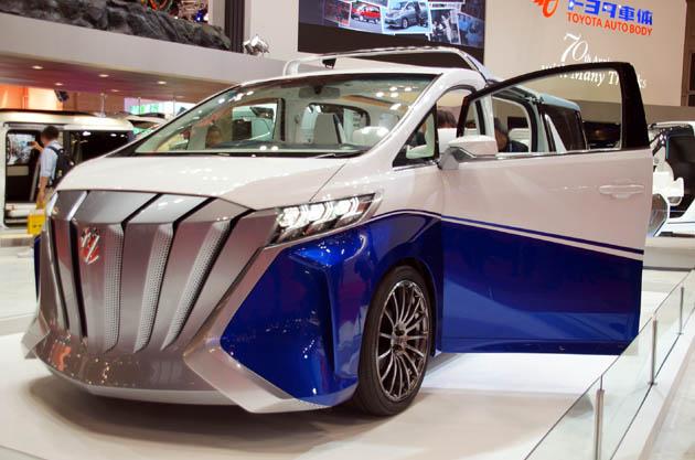 【東京モーターショー2015】クルーザーをイメージした「アルファード」!! トヨタ車体が出展