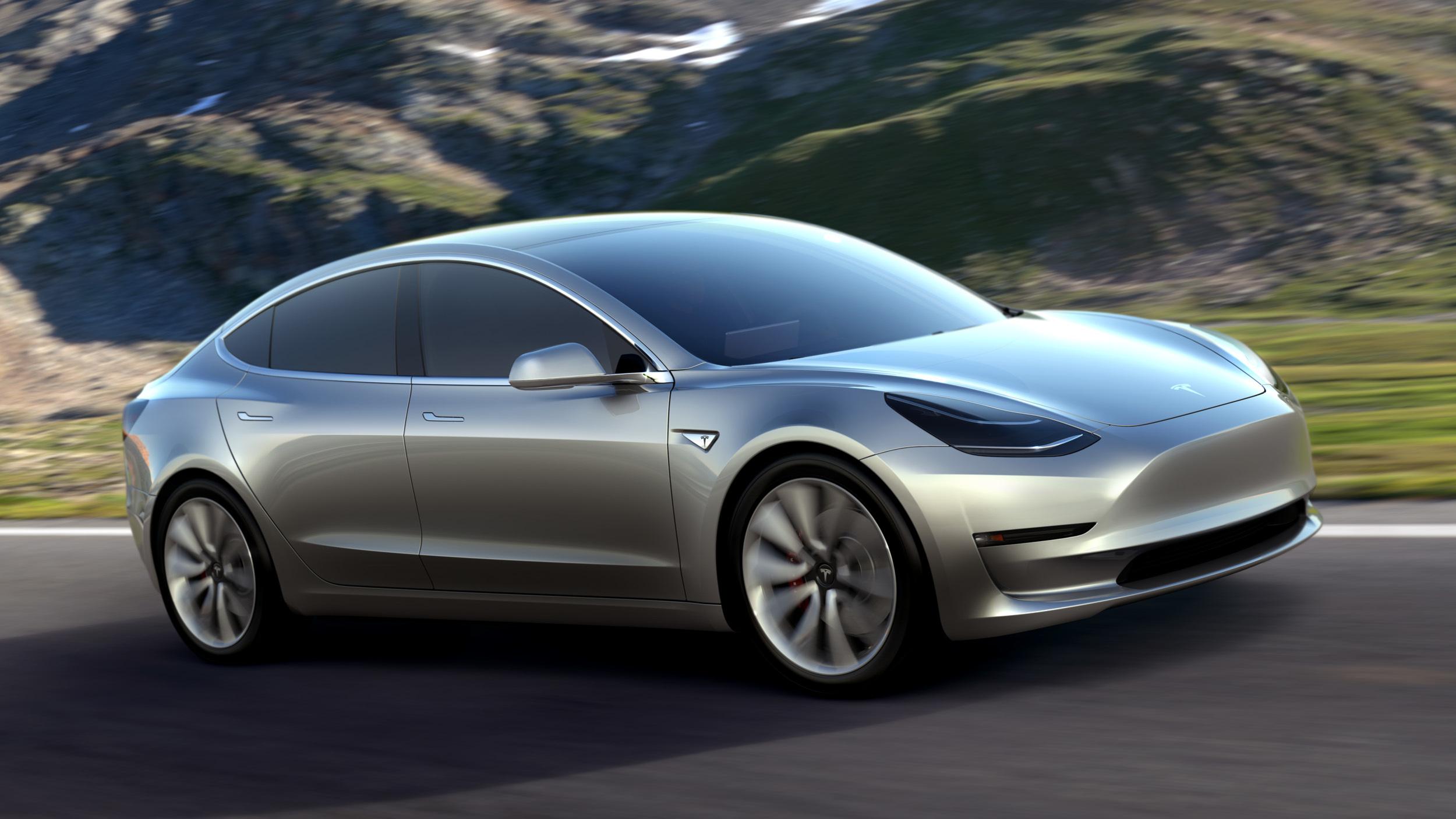 テスラ、新型車「モデル3」の納車を7月28日に開始すると発表し株価が上昇