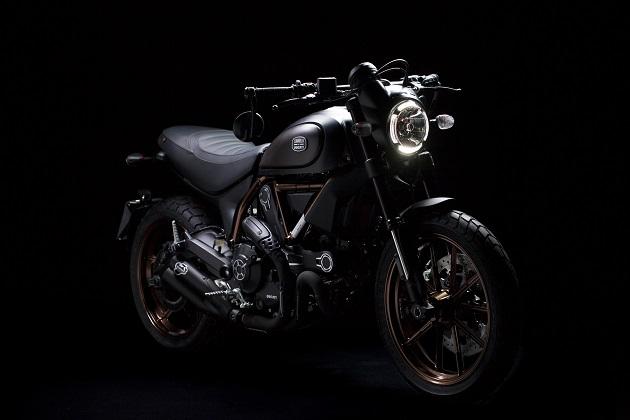 ドゥカティ、イタリア・インディペンデントとのコラボ限定モデル「スクランブラー」を発表