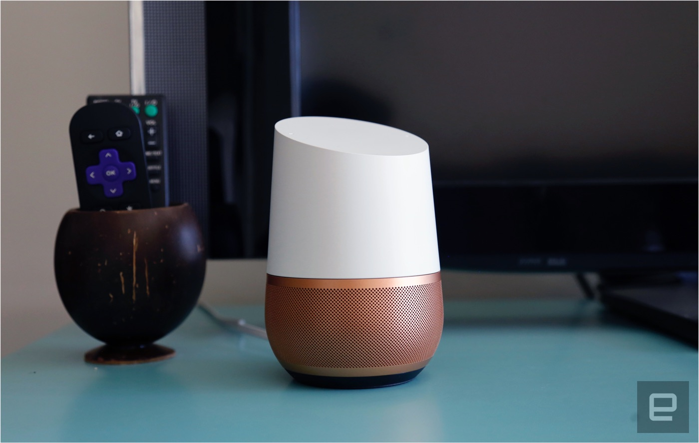 google home review the assistant steps into your living room. Black Bedroom Furniture Sets. Home Design Ideas